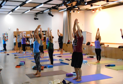 Yoga classes open to the public